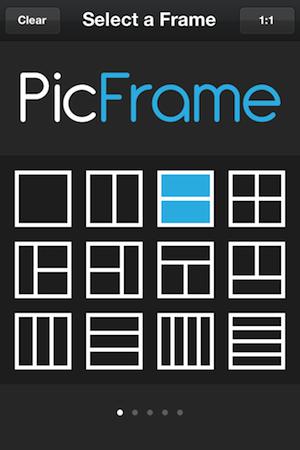 Main PicFrame Screen