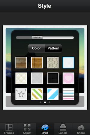 Pattern Screen