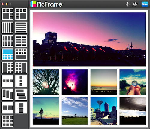 PicFrame for Mac 2.6 Screenshot