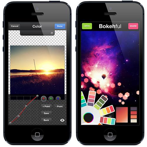 PicBoost and Bokehful Screenshots